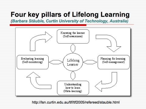 a reflection on lifelong learning Reflective learning what is reflective learning pdp is based on the theory of reflective learning, which emphasises that learning derives from our experiences and can be constantly updated through the process of recording and thinking about the experiences we have.